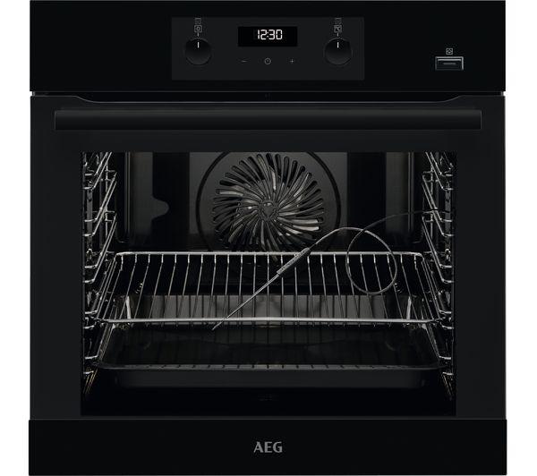 AEG SteamBake BES356010B Electric Steam Oven - Black