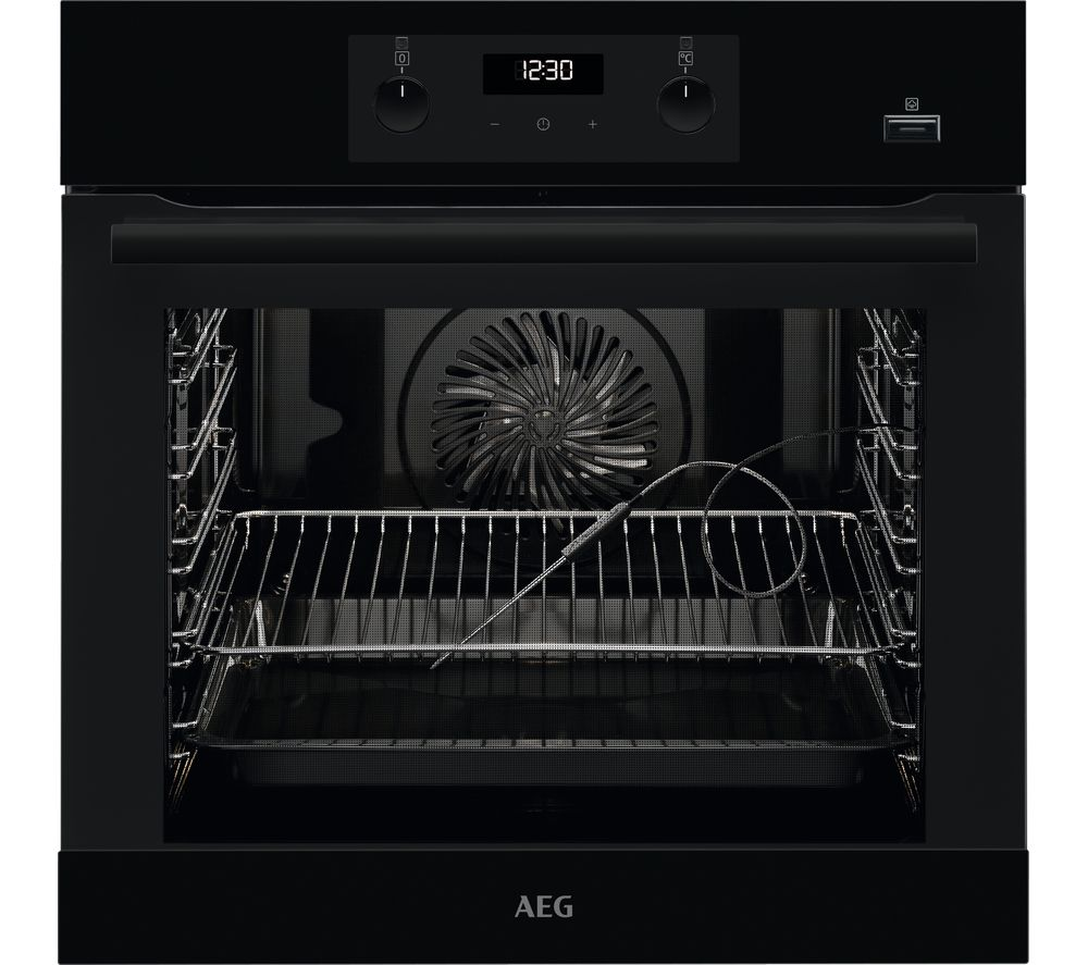 AEG SteamBake BES356010B Electric Steam Oven - Black