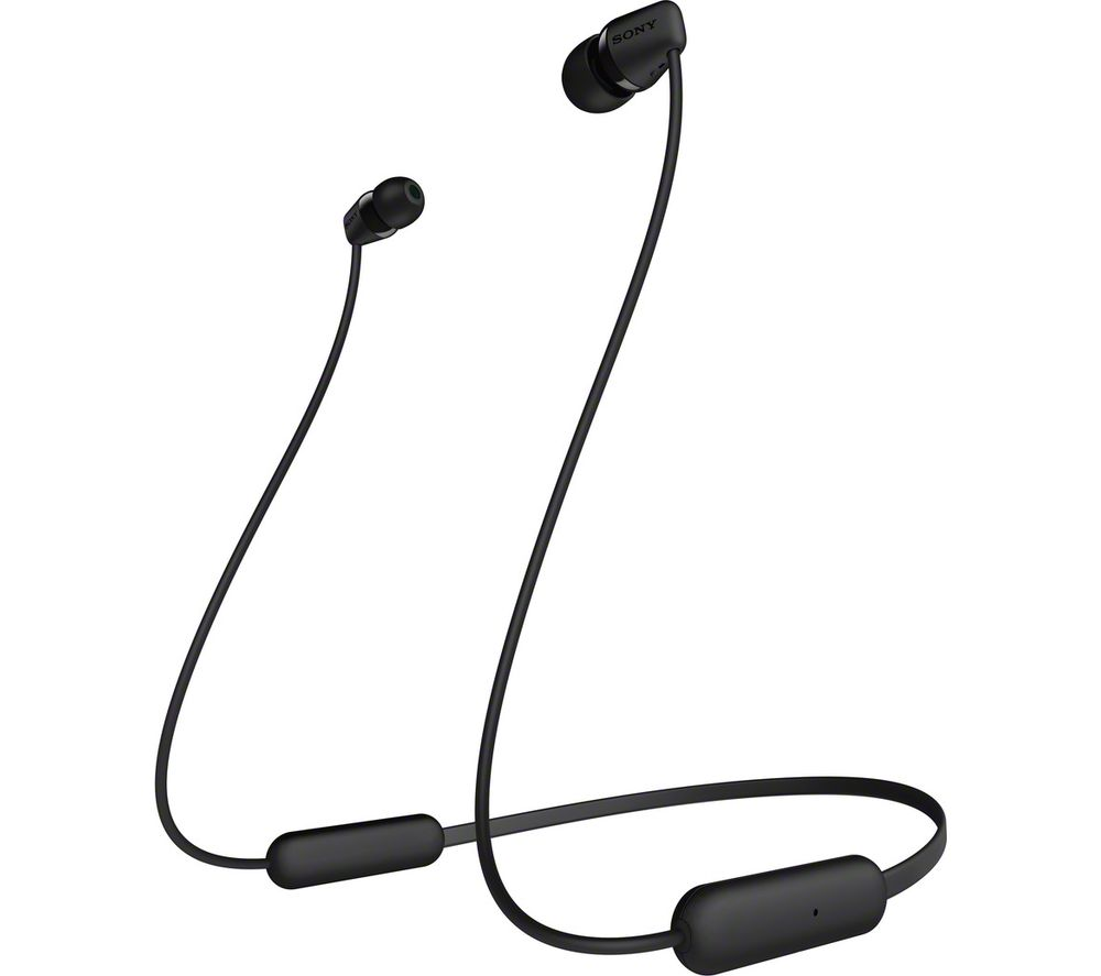 SONY WI-C200 Wireless Bluetooth Earphones - Black