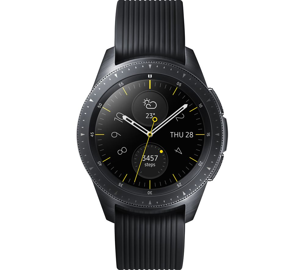 SAMSUNG Galaxy Watch 4G - Midnight Black, 42 mm