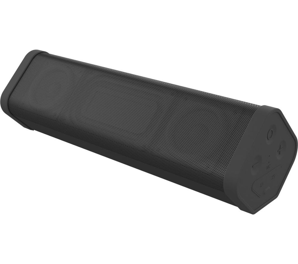 BoomBar 2+ Portable Bluetooth Speaker - Black, Black