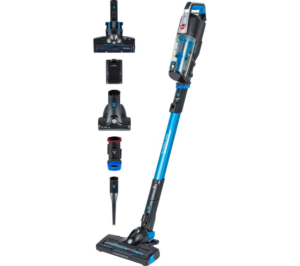 Image of H-FREE 500 Pets HF522UPT Cordless Vacuum Cleaner - Blue, Blue