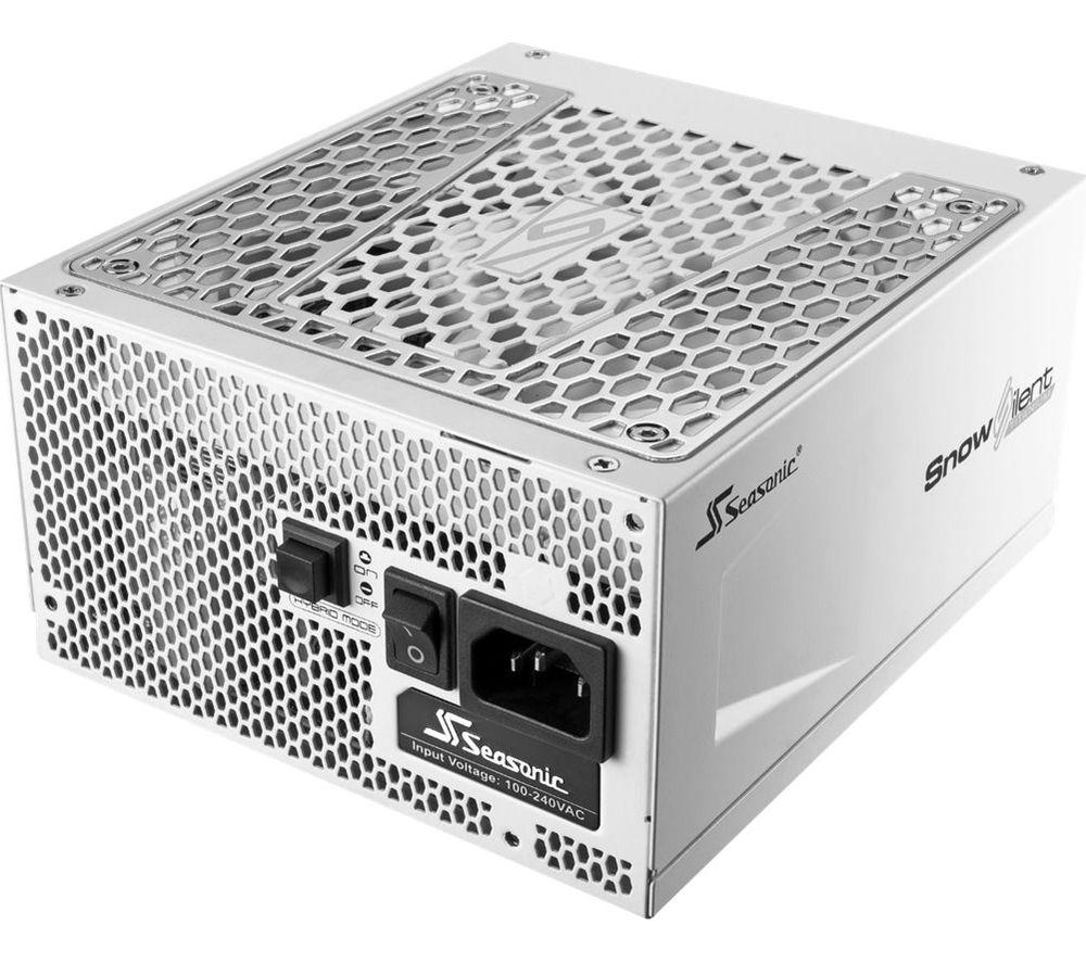 Image of Snow Silent SSR-750TR 80 Plus Gold Modular PSU - 750 W, Snow