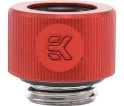 EK COOLING EK-HDC Hard Tube Fitting - 12 mm, Red