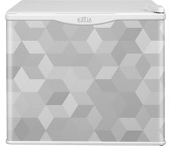 KUHLA KCLRF17-2003 Mini Fridge - Cube Pattern