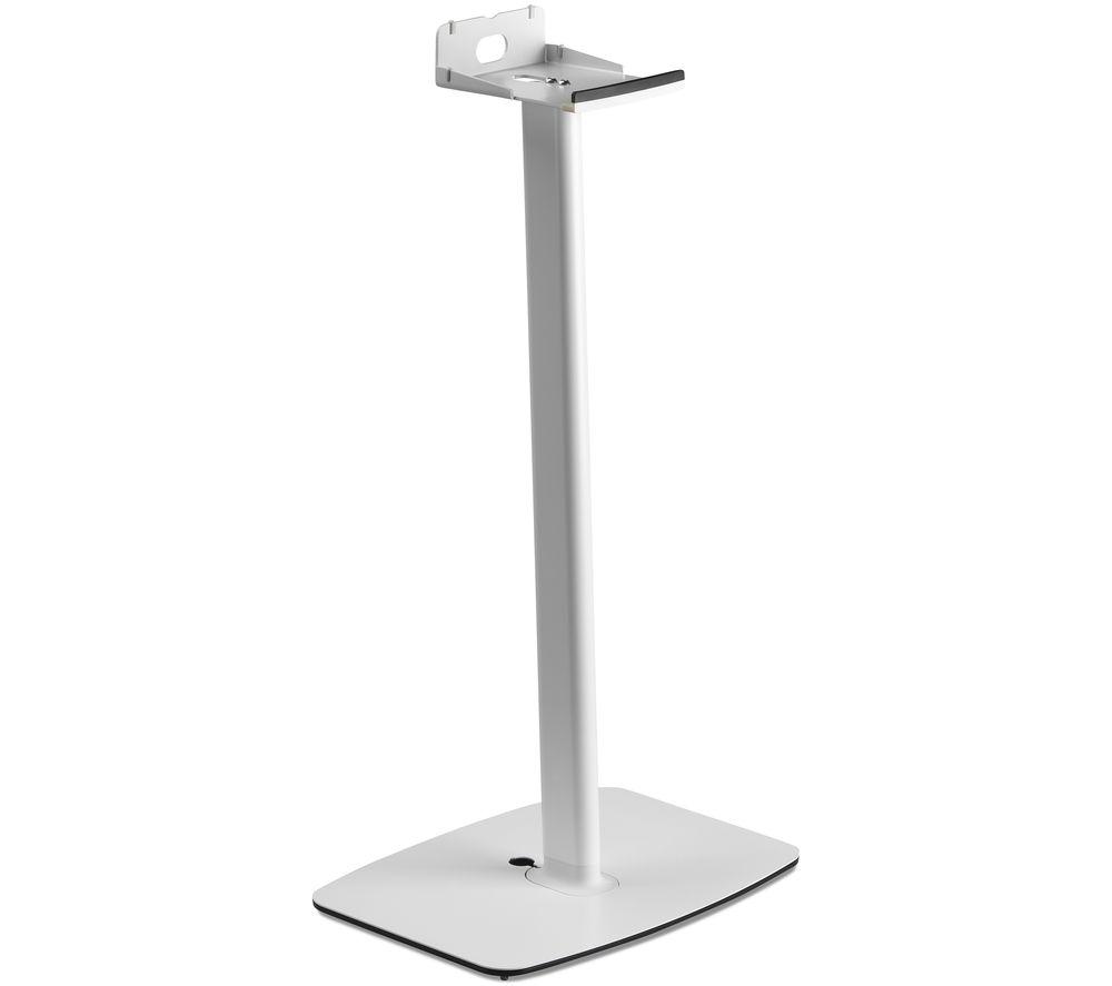 Image of FLEXSON FLXP5S1014D Fixed Speaker Floor Stand for Sonos Play:5 - White, White