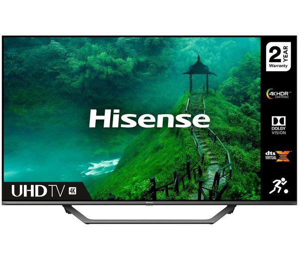 """Image of HISENSE 55AE7400FTUK 55"""" Smart 4K Ultra HD HDR LED TV"""