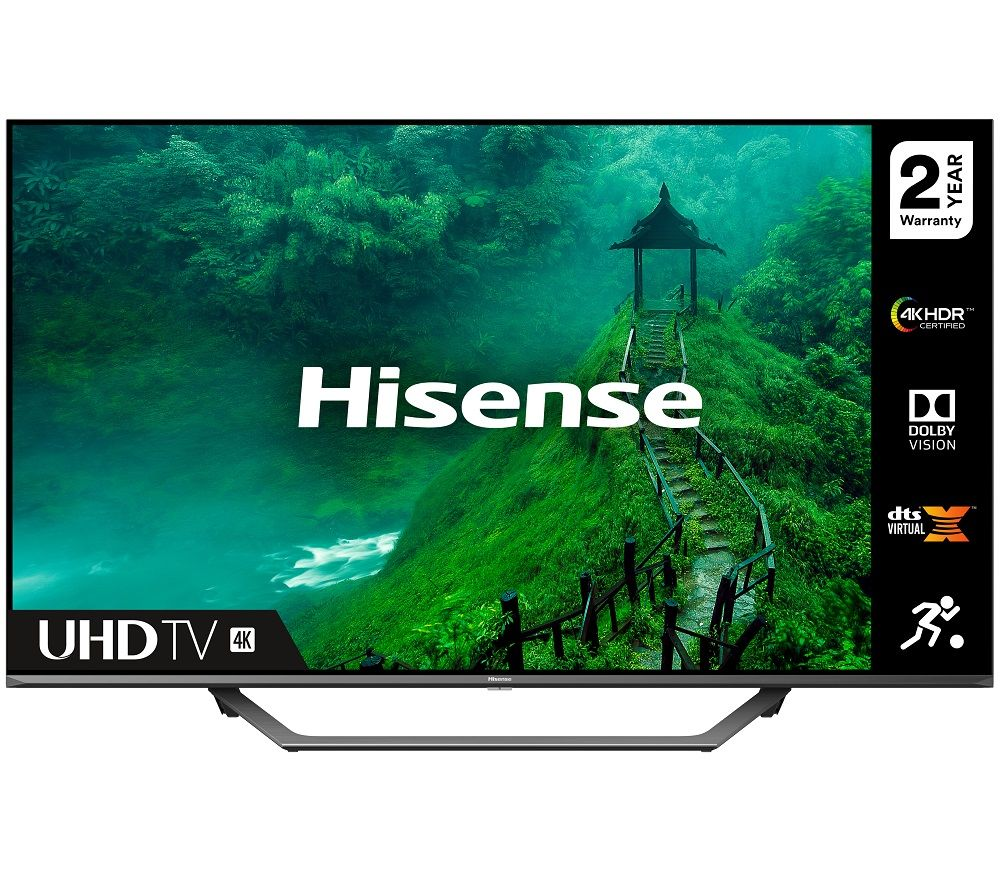 "HISENSE 55AE7400FTUK 55"" Smart 4K Ultra HD HDR LED TV"
