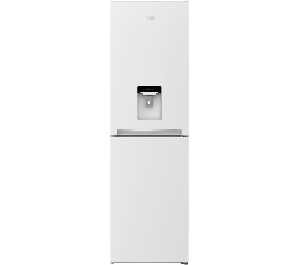BEKO CSG3582DW 50/50 Fridge Freezer - White, White