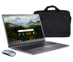 "Image of ACER 715 15.6"" Chromebook - Intel® Pentium®, 128 GB eMMC, Grey"