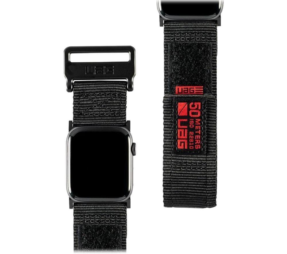 UAG Active Apple Watch 42-44 mm Strap - Black, Black