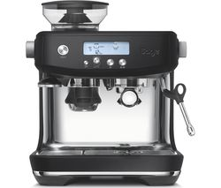 SAGE The Barista Pro SES878BTR Bean to Cup Coffee Machine - Black Best Price, Cheapest Prices