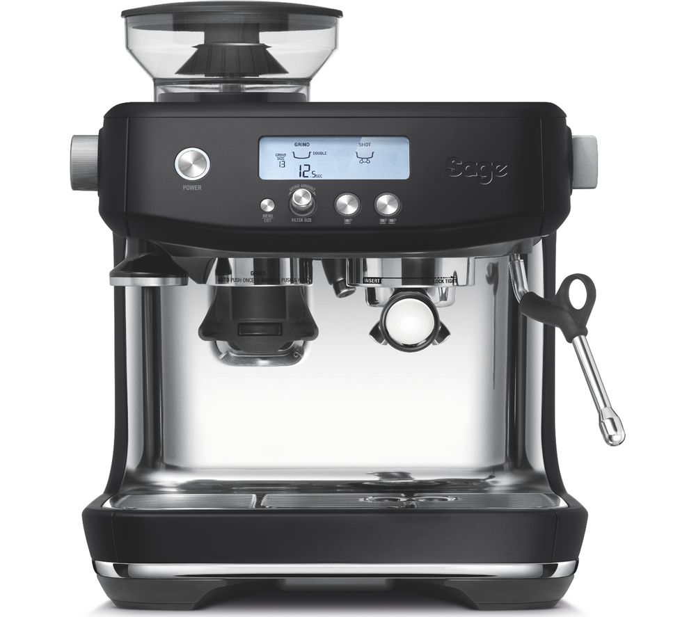 SAGE The Barista Pro SES878BTR Bean to Cup Coffee Machine - Black