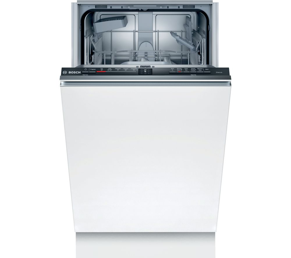 BOSCH Serie 2 SPV2HKX39G Slimline Fully Integrated WiFi-enabled Dishwasher