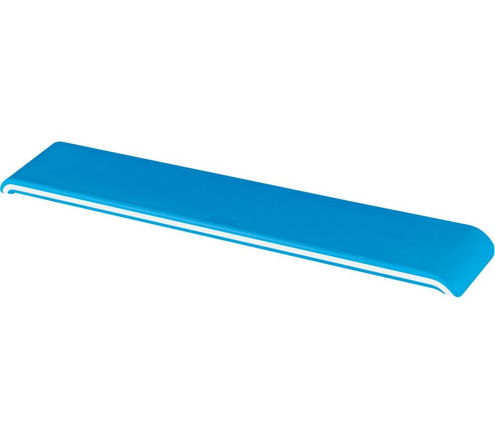 Image of LEITZ Ergo WOW Keyboard Wrist Rest - Blue, Blue