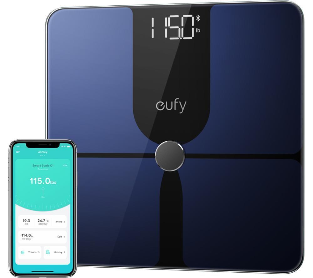 EUFY P1 Smart Scale - Blue & Black