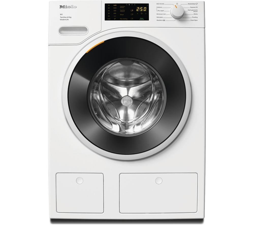 MIELE W1 TwinDos WWD 660 WiFi-enabled 8 kg 1400 Spin Washing Machine - White