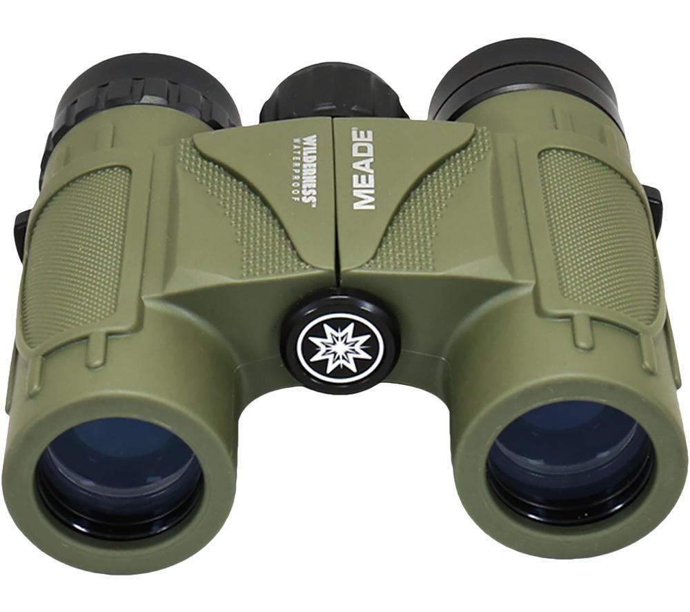 MEADE Wilderness 10 x 25 mm Binoculars - Green, Green