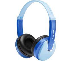 KIDZ Wireless Bluetooth Kids Headphones - Blue