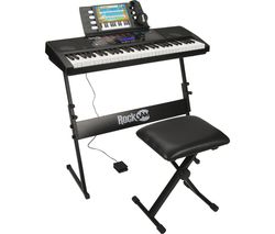 761 Super Kit Electronic Keyboard Pack - Black