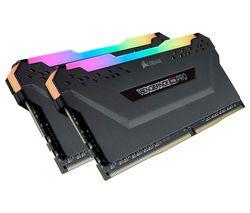 Vengeance Pro RGB DDR4 3600 MHz PC RAM - 16 GB x 2