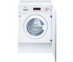Serie 6 WKD28542GB 7 kg Integrated Washer Dryer - White