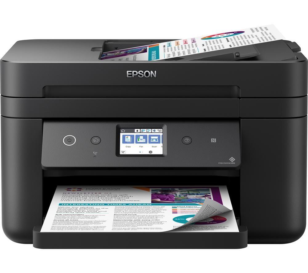 EPSON WorkForce WF-2860DWF All-in-One Wireless Inkjet Printer with Fax
