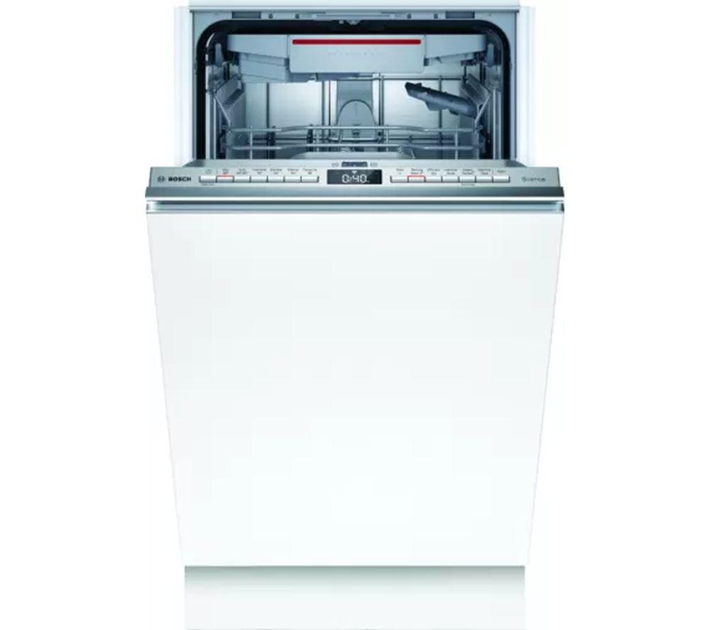 BOSCH Serie 4 SPV4EMX21G Slimline Fully Integrated WiFi-enabled Dishwasher
