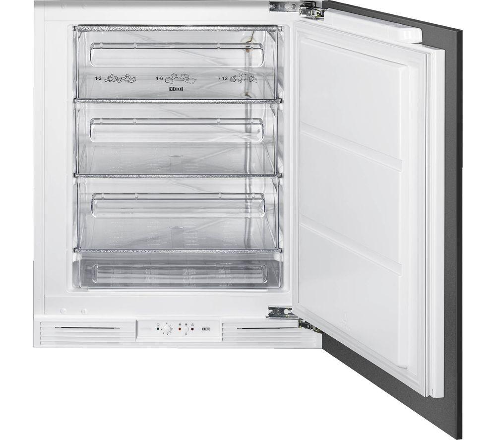 SMEG UKU8F082DF1 Integrated Undercounter Freezer – Fixed Hinge