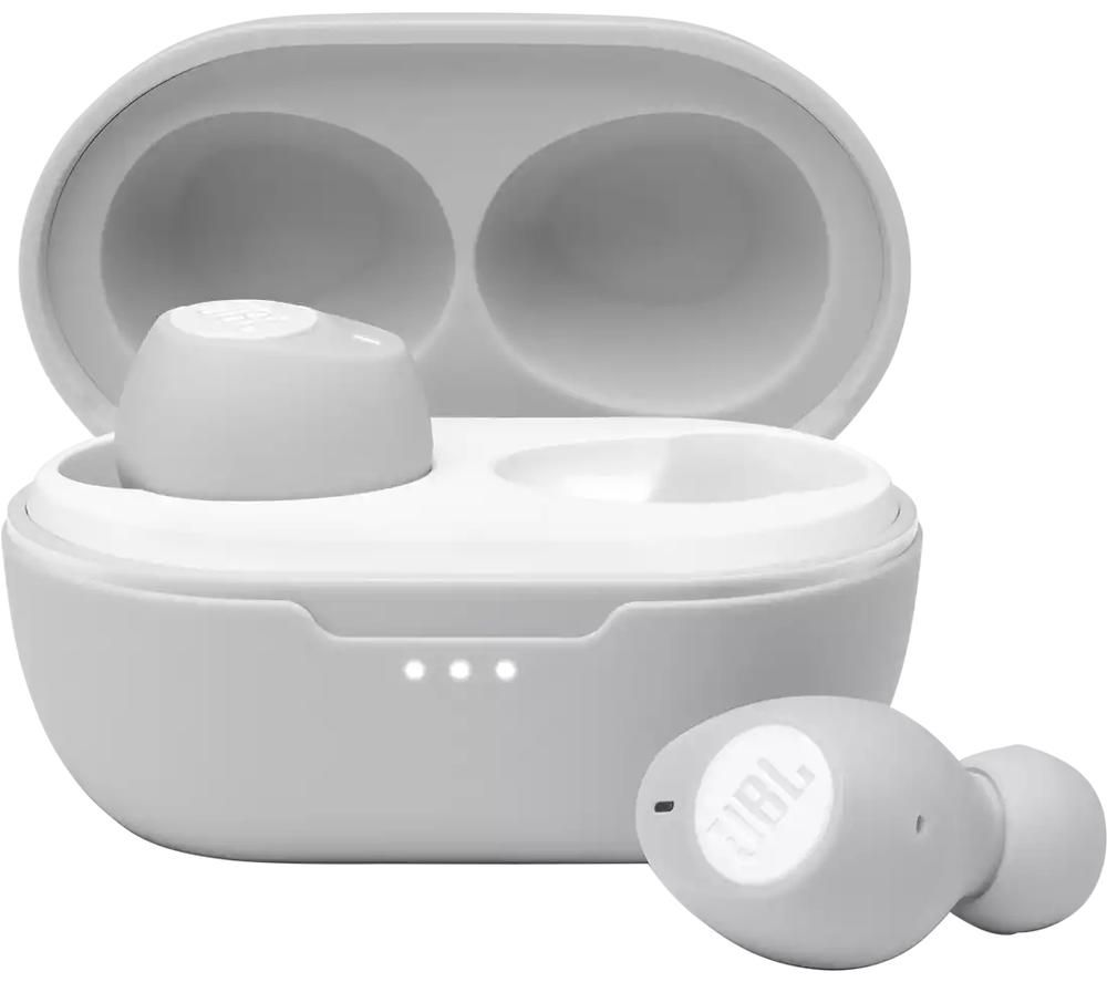 JBL Tune 115TWS Wireless Bluetooth Earbuds - White