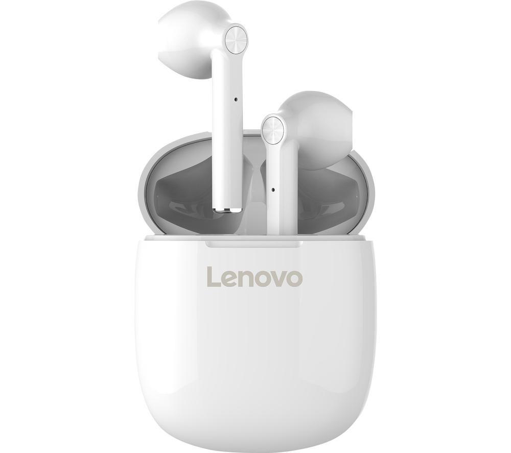 LENOVO HT30 Wireless Bluetooth Earbuds - White