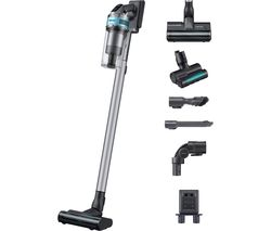 Jet 75 Pet VS20T7532T1/EU Max 200 W Suction Power Cordless Vacuum Cleaner with Turbo Action Brush - ChroMetal & Teal Mint