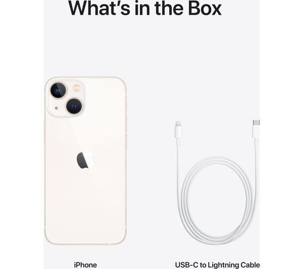 Apple iPhone 13 mini - 128 GB, Starlight 8