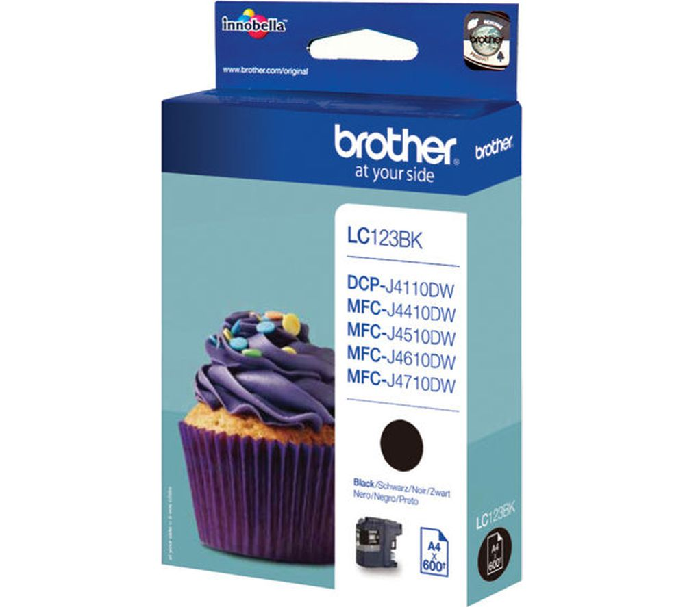 Compare retail prices of Brother LC123BK Black Ink Cartridge to get the best deal online