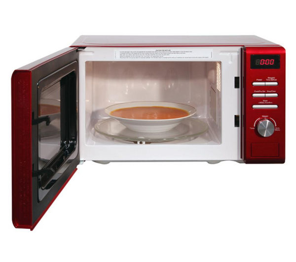 Rus Hobbs Rhm2064r Solo Microwave Red