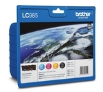 BROTHER LC985VALBP Cyan, Magenta, Yellow & Black Ink Cartridges - Multipack