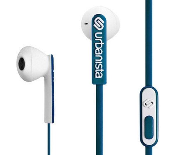 Image of URBANISTA San Francisco Headphones - Blue & White