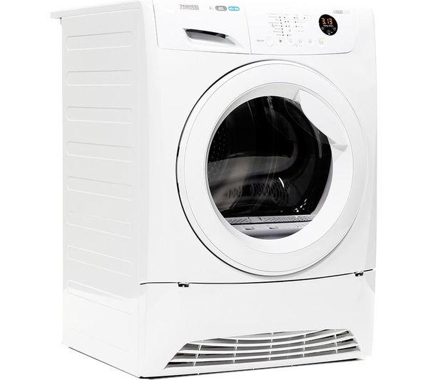 Tumble Dryer Temperature ~ Buy zanussi zdh w heat pump tumble dryer white free