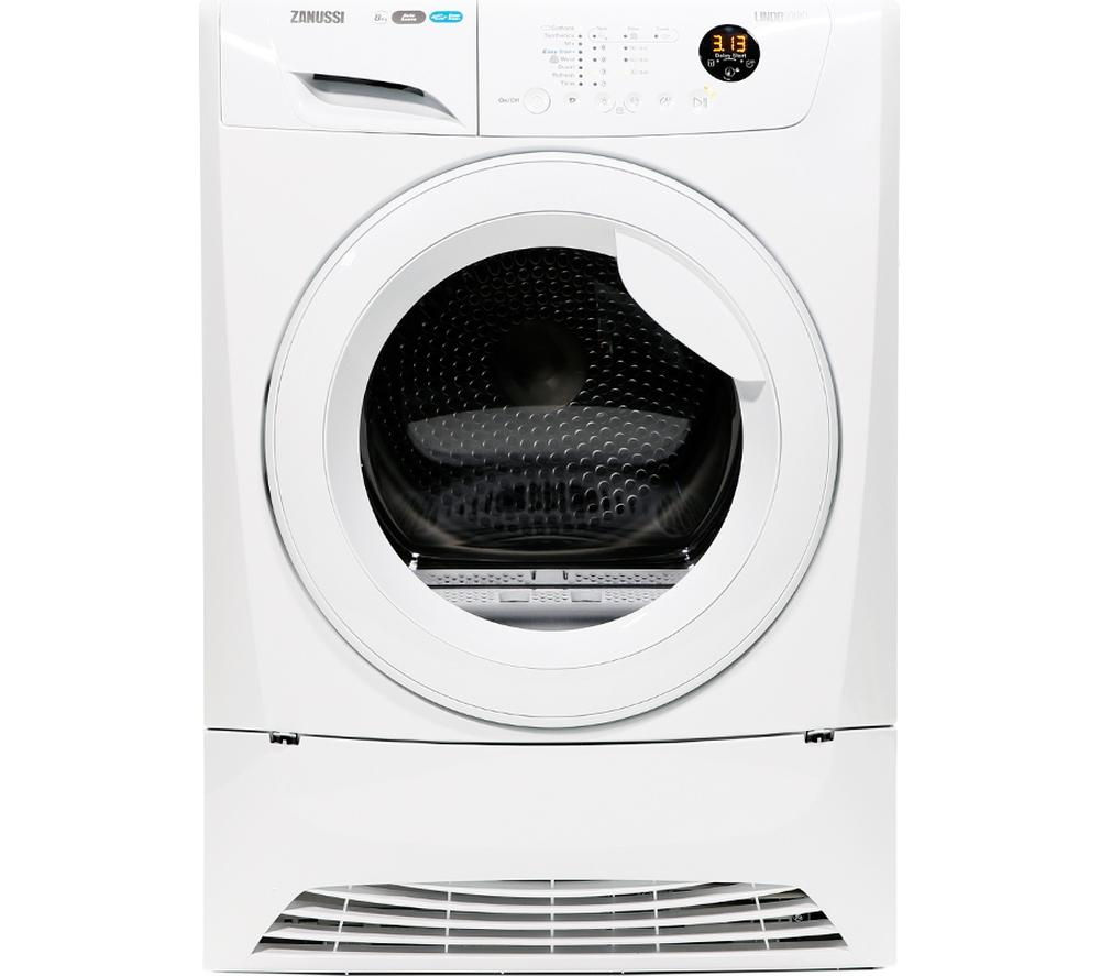 Zanussi Tumble Dryer ZDH8333W Heat Pump  – White, White