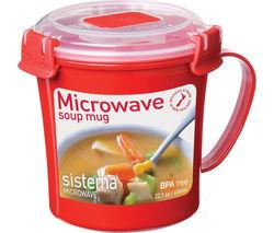 656ml Microwave Soup Mug