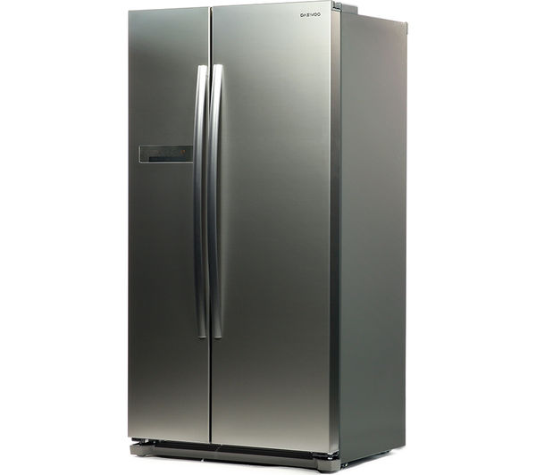 buy daewoo drx31b3s american style fridge freezer silver free delivery currys. Black Bedroom Furniture Sets. Home Design Ideas