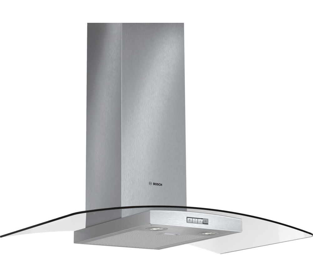 BOSCH DWA094W51B Chimney Cooker Hood - Stainless Steel