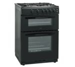 LOGIK LFTG60B16 Gas Cooker - Black