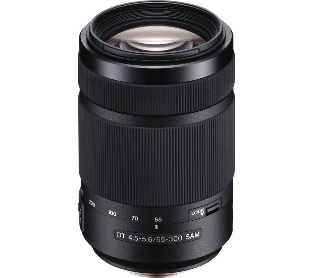 SONY DT 55-300mm f/4.5-5.6 SAM Telephoto Zoom Lens