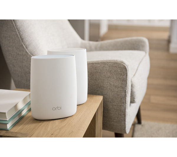 NETGEAR Orbi RBK50 Whole Home WiFi System - Twin Pack