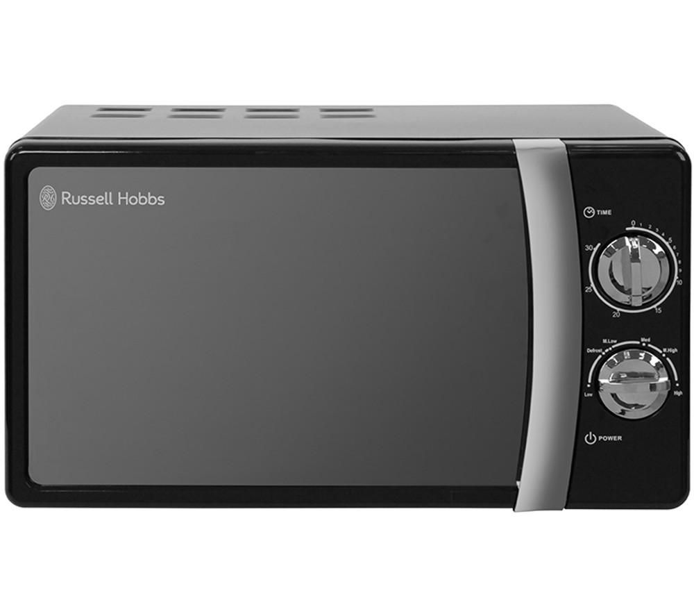 RUSSELL HOBBS RHMM701B Compact Solo Microwave - Black