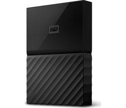 WD My Passport for Mac Portable Hard Drive - 2 TB, Black