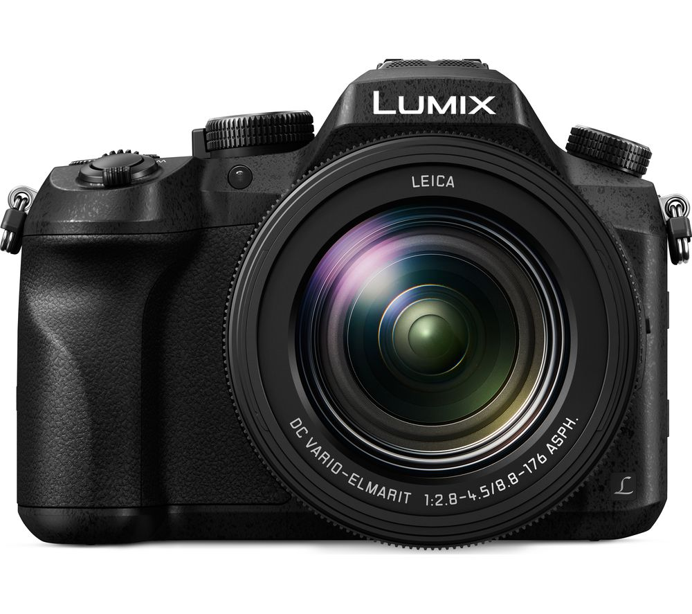 PANASONIC DMC-FZ2000EB High Performance Bridge Camera - Black, Black