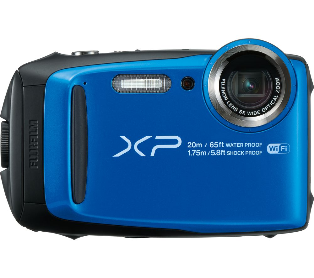 FUJIFILM XP120 Tough Compact Camera - Blue