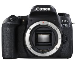 CANON EOS 77D DSLR Camera - Black, Body Only